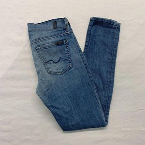 7 For All Mankind Gwenevere Women's Size 27 Cotton